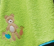 Bear Toys Colors Green | LaC 08 | Bath Towel